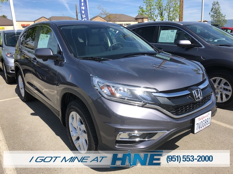 Used 2016 Honda CR-V EX FWD SUV for sale in Temecula, CA