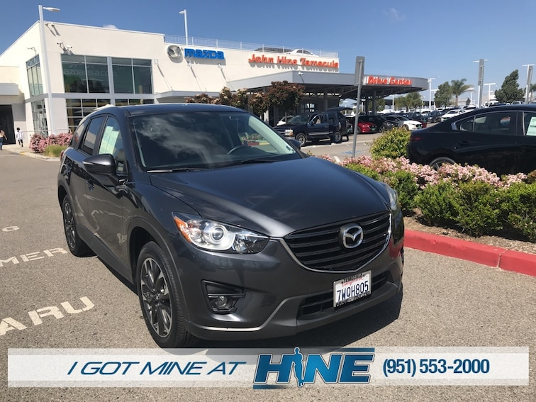 Certified Pre-Owned 2016 Mazda CX-5 Grand Touring (2016.5) SUV for sale in Temecula, CA