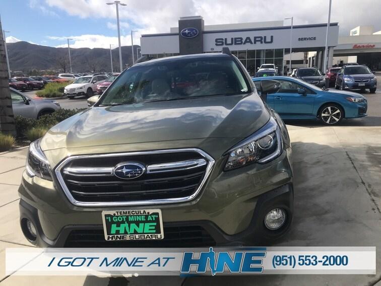 New 2019 Subaru Outback 2.5i Premium SUV for sale in Temecula, CA