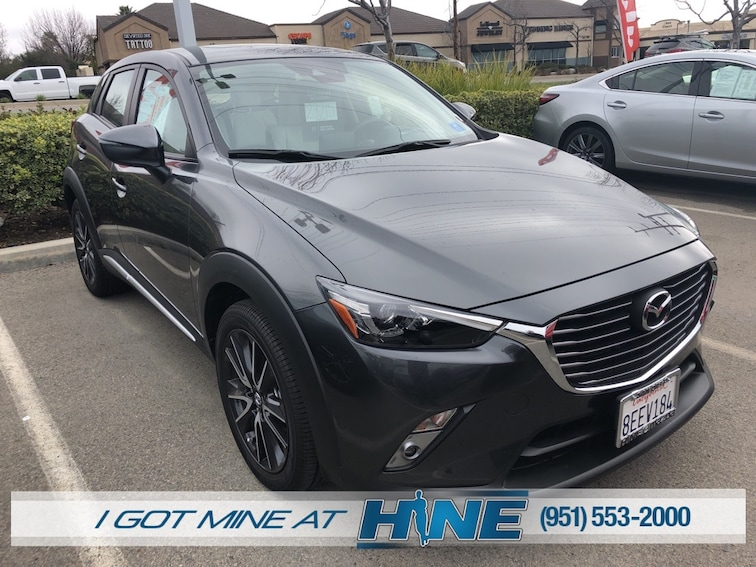 Certified Pre-Owned 2018 Mazda CX-3 Grand Touring SUV for sale in Temecula, CA