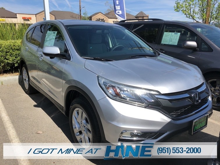 Used 2015 Honda CR-V EX FWD SUV for sale in Temecula, CA