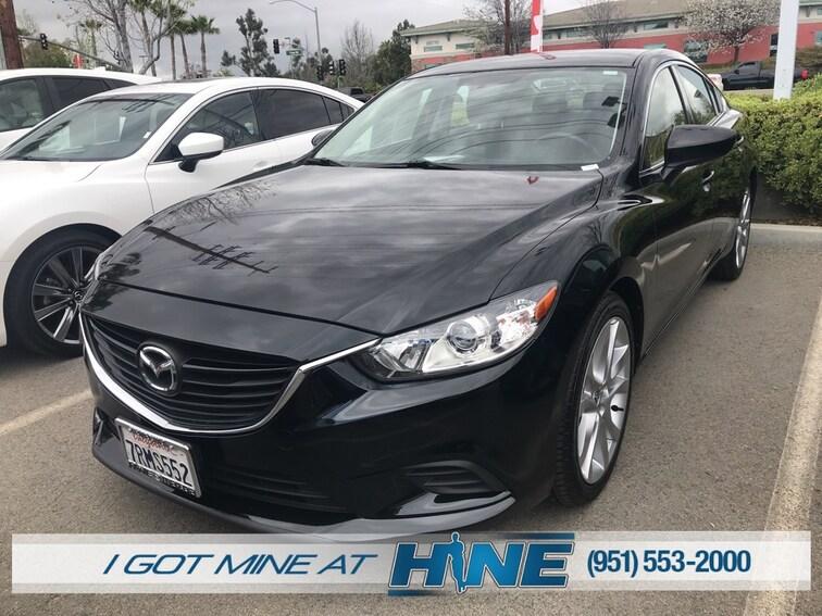 Certified Pre-Owned 2016 Mazda Mazda6 i Touring Sedan for sale in Temecula, CA