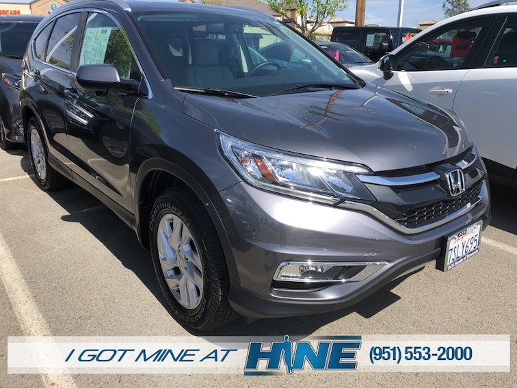 Used 2016 Honda CR-V EX-L SUV for sale in Temecula, CA
