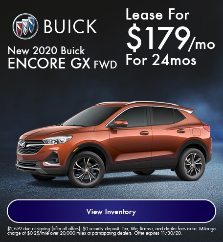 New 2020 Buick Encore GX FWD