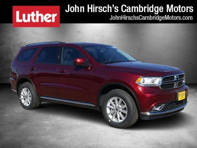 New 2019 Dodge Durango SXT PLUS AWD Sport Utility in Cambridge, MN