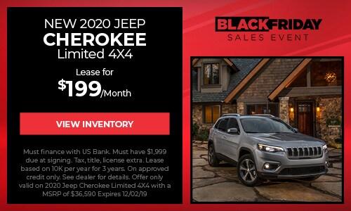 2020 Jeep Cherokee Lease