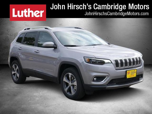 New 2019 Jeep Cherokee LIMITED 4X4 Sport Utility in Cambridge, MN