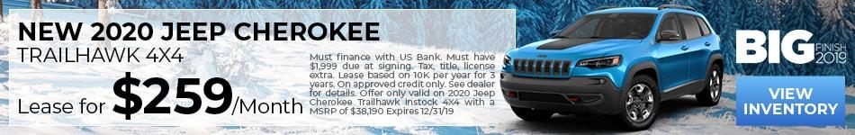 NEW 2020 JEEP Cherokee TrailHawk 4X4