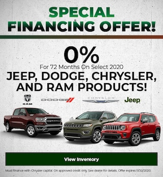 Special Financing Offer!