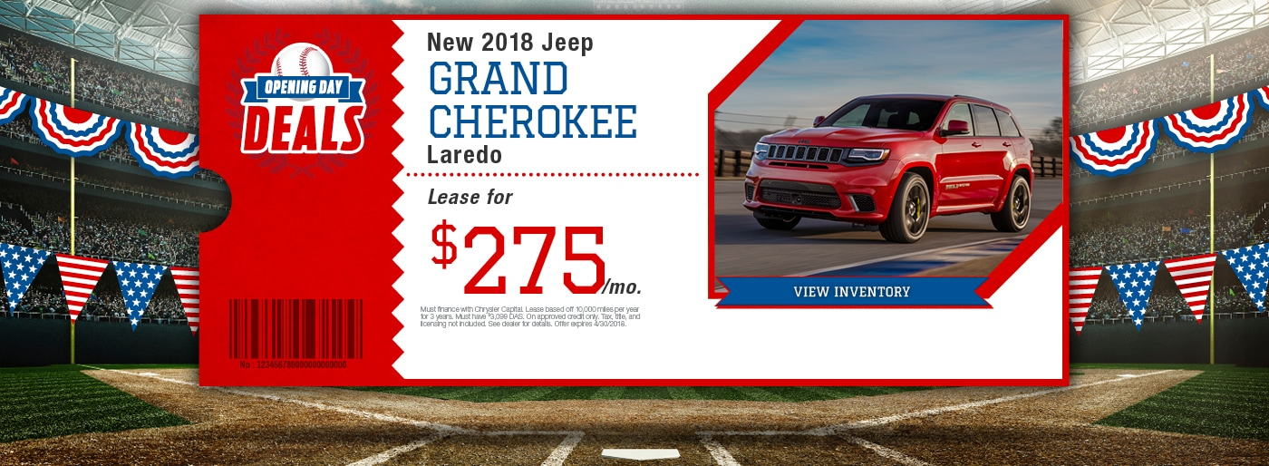 New 2018-2019 Chrysler, Dodge, Jeep, RAM and Used Car ...