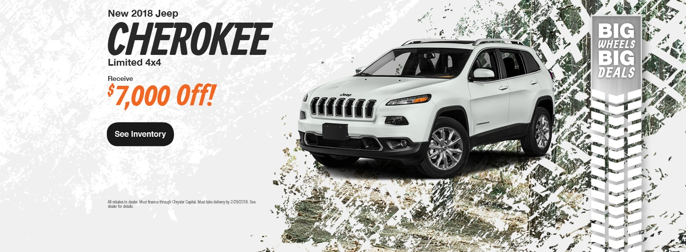 New 2017 2018 Chrysler Dodge Jeep Ram And Used Car