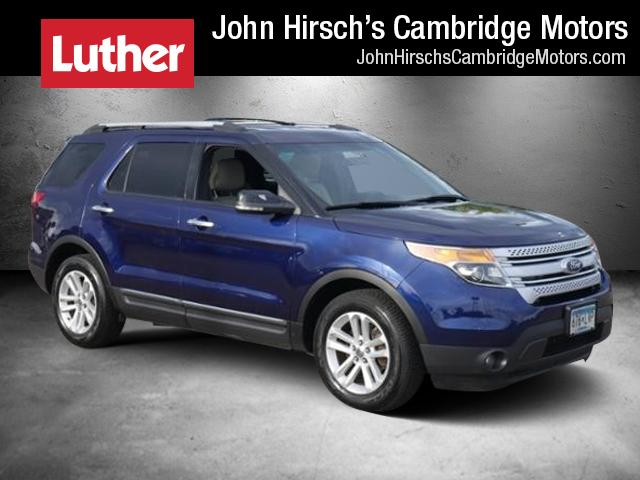 Featured Used 2011 Ford Explorer FWD  XLT SUV in Cambridge, MN