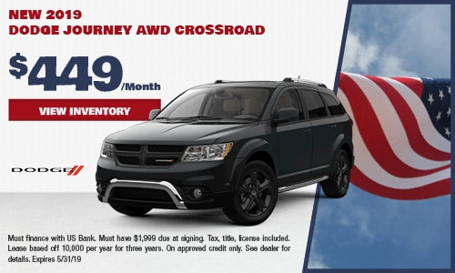 2019 Dodge Journey AWD Crossroad