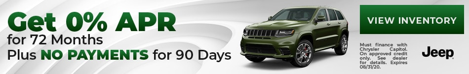 Get 0% APR for 72 Months  Plus No Payments for 90 Days