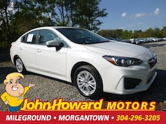 Certified Pre-Owned 2018 Subaru Impreza 2.0I Premium 4-Door CVT Sedan 4S3GKAB60J3602753 for Sale in Morgantown, WV