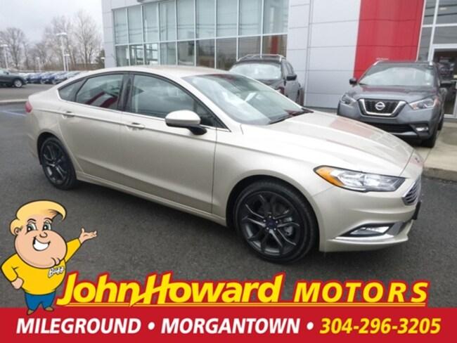 Used 2018 Ford Fusion SE Sedan Morgantown