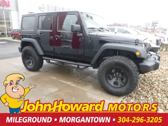 Used 2017 Jeep Wrangler Unlimited Sport SUV Morgantown