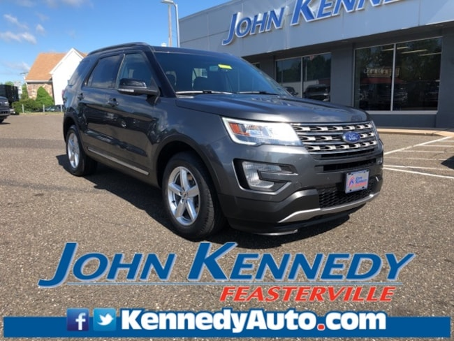 Certified 2016 Ford Explorer XLT Sport Utility Feasterville