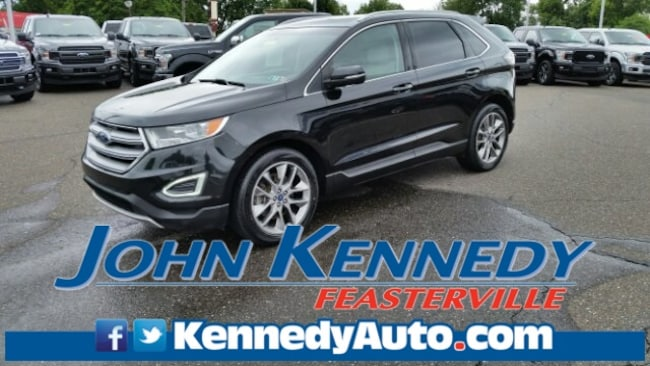 Certified 2015 Ford Edge Titanium Sport Utility Feasterville