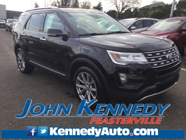Certified 2016 Ford Explorer Limited Sport Utility Feasterville