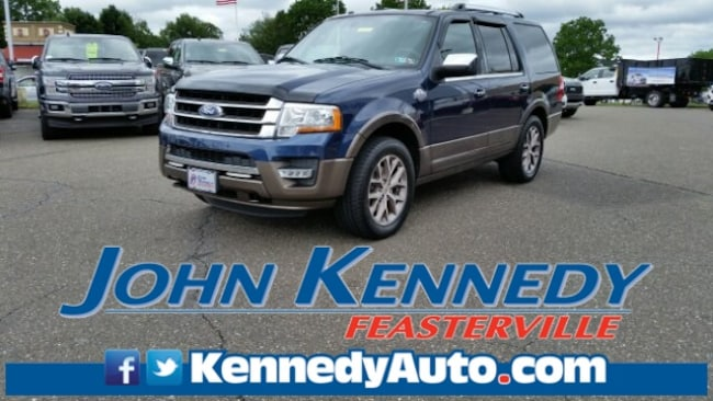 Certified 2015 Ford Expedition King Ranch Sport Utility Feasterville