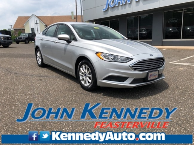 Certified 2017 Ford Fusion S Sedan Feasterville