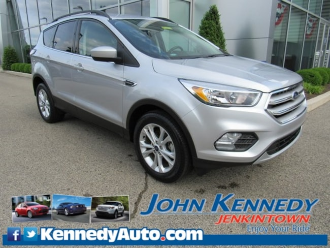 Certified Pre-Owned 2018 Ford Escape SE SUV in Jenkintown