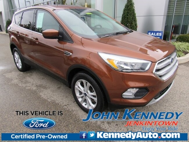 Certified Pre-Owned 2017 Ford Escape SE SUV in Jenkintown