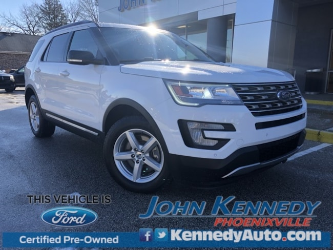 Certified 2017 Ford Explorer XLT SUV Phoenixville