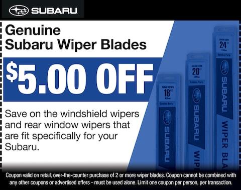 Genuine Subaru Wiper Blades
