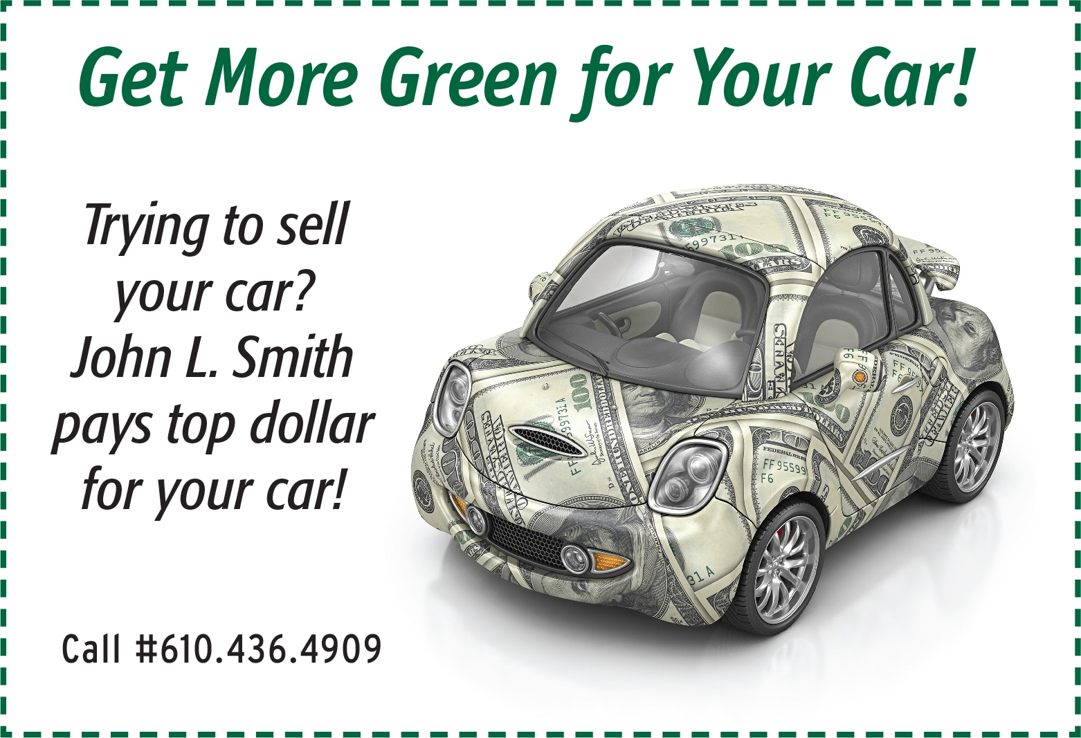 used car dealership west chester pa john l smith used cars. Black Bedroom Furniture Sets. Home Design Ideas