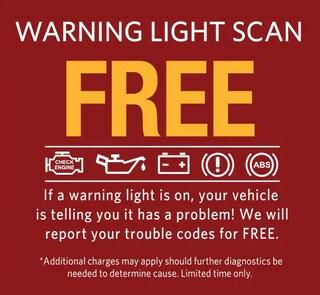 Free Warning Light Scan