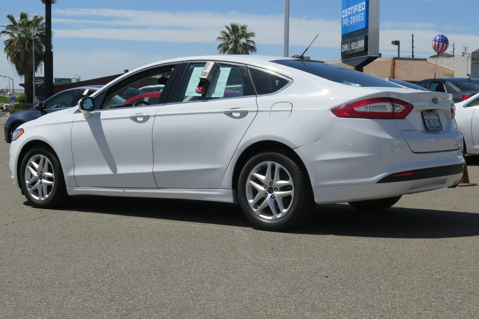 used 2016 ford fusion se for sale in yuba city ca. Black Bedroom Furniture Sets. Home Design Ideas