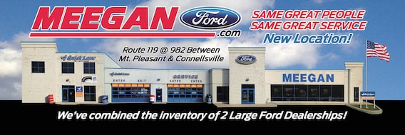 Mt Pleasant Motors >> Meegan Ford Ford Dealership In Connellsville Pa