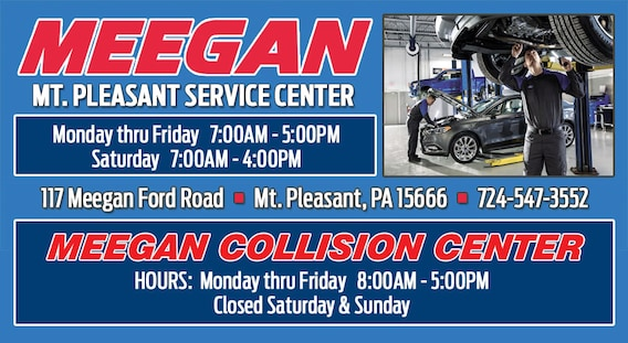 Mt  Pleasant Body Shop and Service Center | Meegan Ford