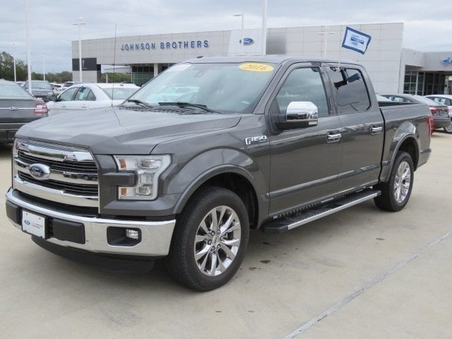2016 Ford F-150 Lariat 2WD SuperCrew 145 Lariat