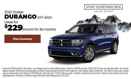 January 2020 Dodge Durango