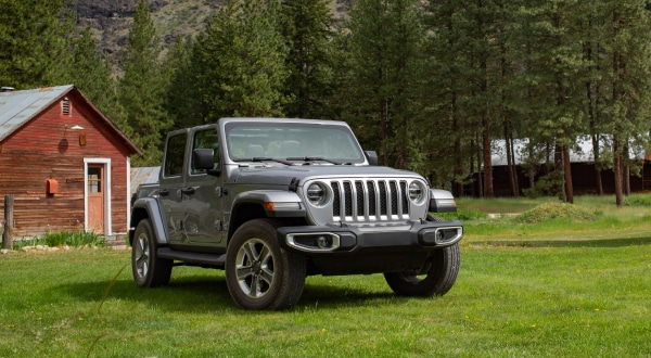 New Jeep Wrangler exterior left side