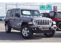 New 2018 Jeep Wrangler UNLIMITED SPORT S 4X4 Sport Utility In Meridian, MS at Johnson Dodge Chrysler Jeep automotive dealership