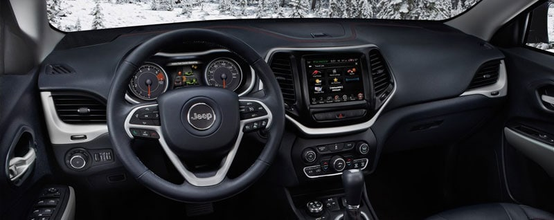2018 Jeep Cherokee Interior