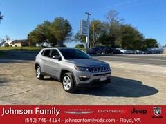 New 2021 Jeep Compass LATITUDE 4X4 Sport Utility in Floyd, VA