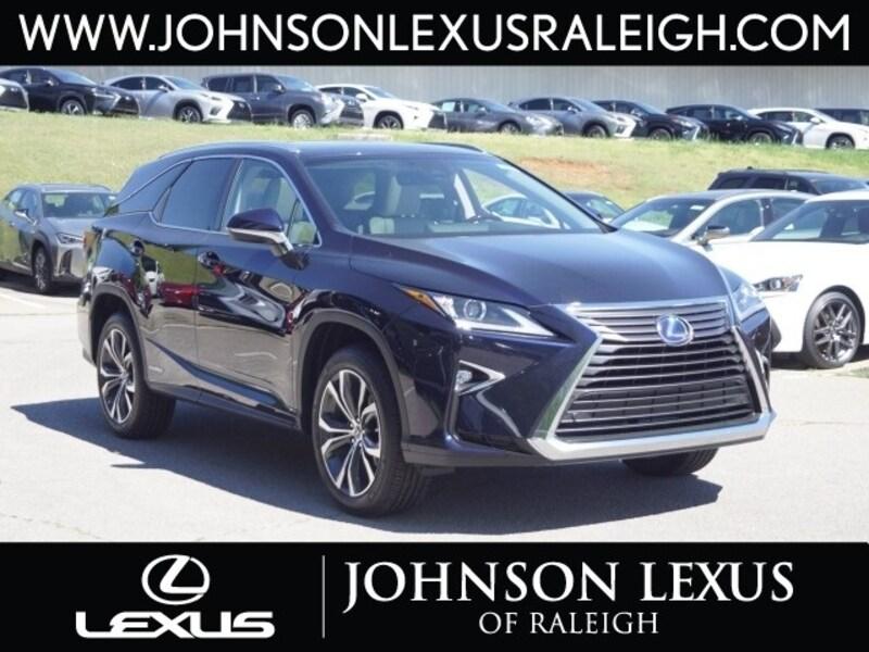 Johnson Lexus Raleigh >> New 2019 Lexus Rx 450hl For Sale At Johnson Lexus Of Raleigh