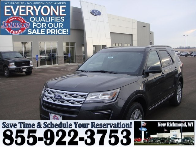 Johnson Ford New Richmond >> New 2019 Ford Explorer For Sale At Johnson Motors Vin