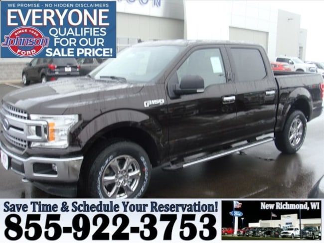 Johnson Ford New Richmond >> New 2019 Ford F 150 For Sale At Johnson Motors Vin