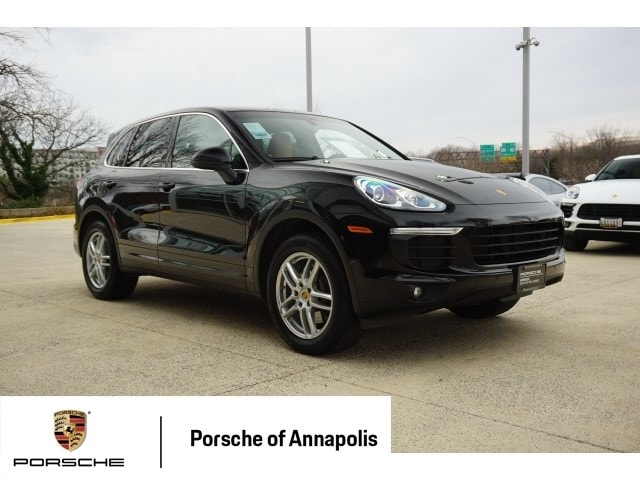 used 2016 porsche cayenne for sale   annapolis md