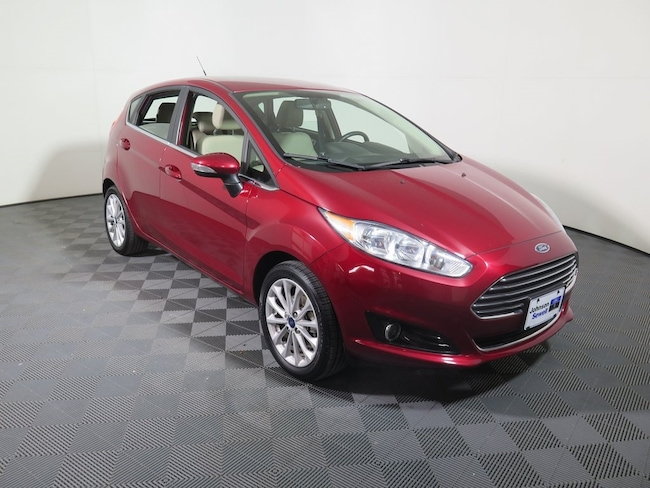 Used 2017 Ford Fiesta Titanium Hatchback For Sale Marble Falls, TX