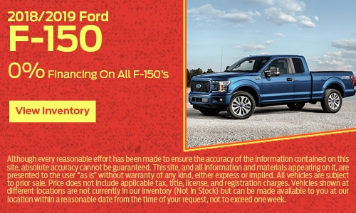 2018/2019 Ford F-150