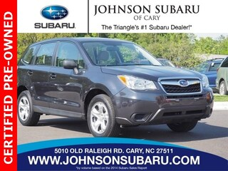 Certified Pre-Owned 2016 Subaru Forester 2.5i SUV near Raleigh & Durham, NC