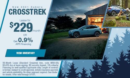 New 2021 Subaru Crosstrek