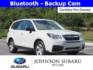 Certified Pre-Owned 2017 Subaru Forester 2.5i SUV near Raleigh & Durham, NC